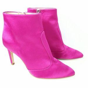 Sam Edelman Olette Womens Booties Size 5 Fushia